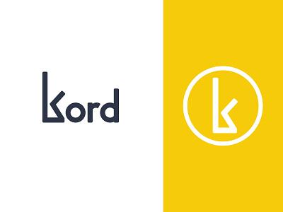 Kord Branding 🖌 logo design branding design brand branding logo icon design
