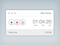 Mini Timer [Freebie]