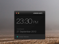 Clock widget full