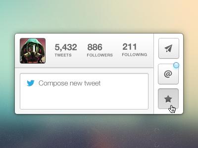 Little Tweeter - Rebound twitter app mac tweet ui