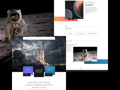 Company Website agency website design design ux design web webdesign