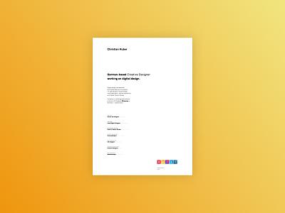 Welcome back. fullscreen webdesign agency website design website design personal portfolio design ux design interface design web webdesign