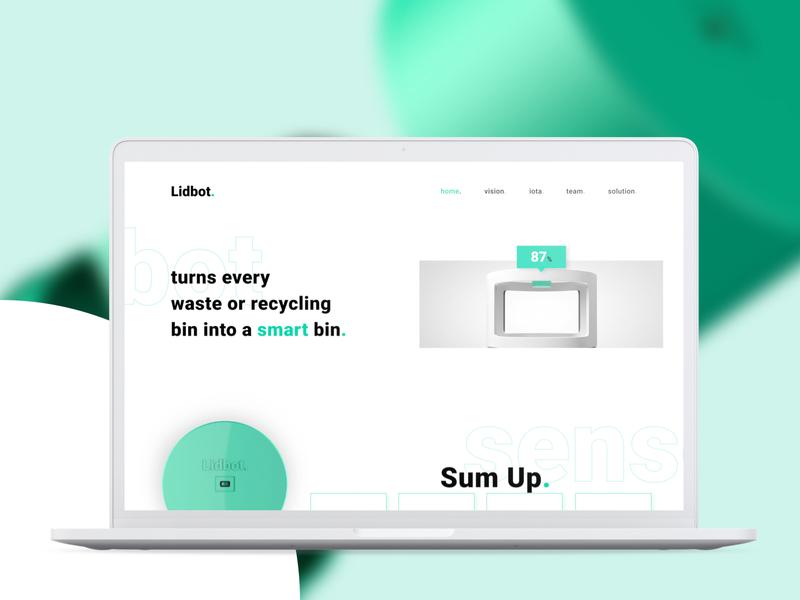Lidbot. Website Design
