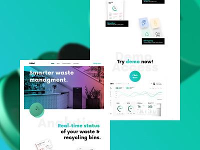 Lidbot.Website 2.0 startup design ux design interface design web webdesign