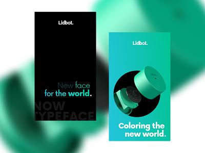 Lidbot.Campaign startup branding design ux design interface design web webdesign
