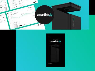 Smartbin.io—Social Media startup start up website design branding design ux design interface design web webdesign