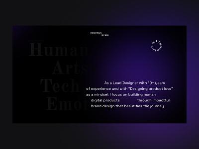 /2 cryptodesign portfolio website design artsy interfacedesign ui web webdesign