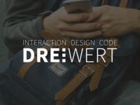 Dreiwert Logo–Design