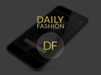 Daily Fashion App Design