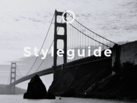 Web–Styleguide Cover Page