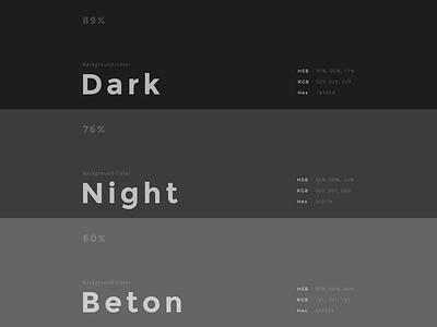 Show us your Color–Set interface design ux design web webdesign