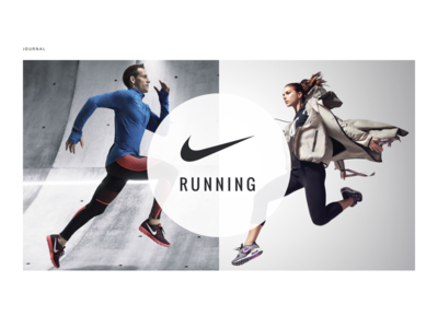 Running Journal—Web–Magazin–Layout