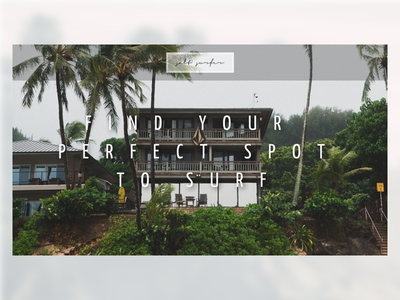 Find your perfect spot to surf interface design ux design web webdesign