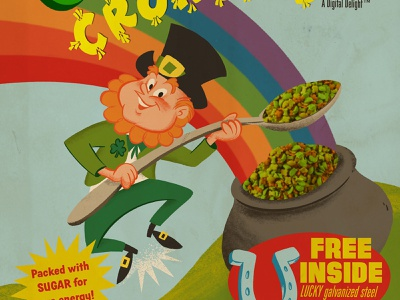 How to Make a Retro Cereal Box Design brushes retro illustration retrosupply tutorial procreate