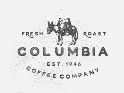 Colombia Coffee coffee wildfire donkey font typeface display sans-serif all-caps special characters colombia