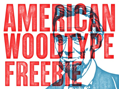 American Wood Type Freebie download free freebie retrosupply texture wood action psd photoshop wood type