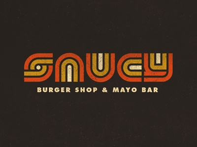 [NEW FONT] Saucy Burger Joint