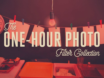 The One-Hour Photo Filter Collection