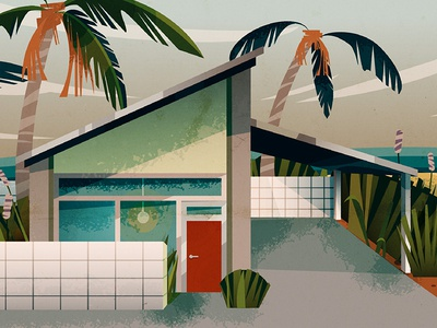 How to Make a Mid-Century House in Illustrator