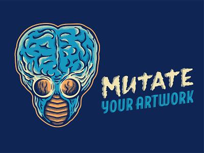 Metaluna Mutant brushes photoshop retrosupply horrific halftones