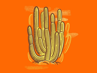 [MINI-TUTORIAL] How to Make a Hand Drawn Cactus in Illustrator