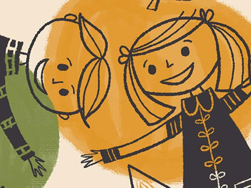 The Liner Brush Pack For Procreate retrosupply creative market texture pens childrens book vintage mid-century retro illustration brushes procreate