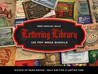 [SALE] Lettering Library Mega Bundle