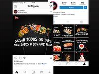 Sushi Bar Social Media Kit