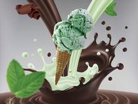 Flying Ice Cream #02