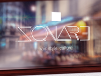 SQUARE. Hair. Style. Culture. Branding