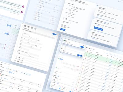 Web app for managing prescriptions concept design vector interface flat minimal medication app web design ux ui