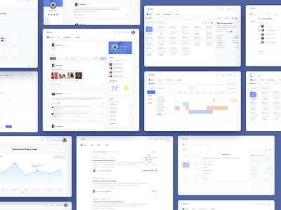 Franchise Platform form folder widgets list calendar charts cards tool management platform vector minimalist minimalism ui design app web ux ui