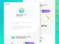 ChatterBot Landing Page