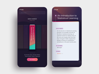 Kitaabe mobile app design books retro design ui ui design ux design mobile application mobile design mobile app mobile ui