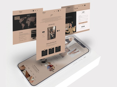 Reveuse l Fashion UI/UX Design clothing advertising branding design mockup fashion ui fashion about login page contact page innerpages ineterface web web ui website user experience user interface uiux ux ui