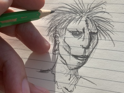 daily sketch pencil design art sketchbook illustration nft