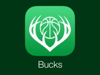 Milwaukee Bucks iOS Icon Redesign