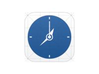 iOS Clock Icon