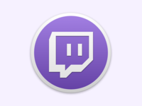 Twitch macOS Mojave Icon