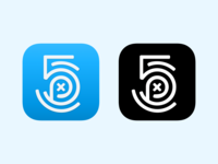 500px iOS app icons