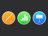iWork macOS Mojave Icons