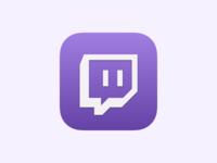 Twitch iOS app icon
