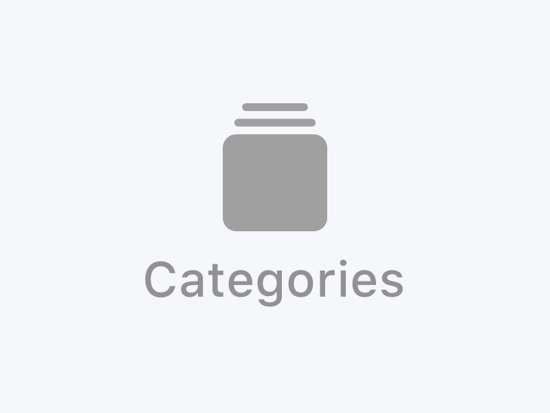 Categories Icon icon design ios design design mobile ipad iphone categories navigation tab bar tabbar app icon ios