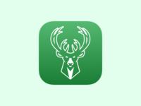 Milwaukee Bucks iOS App Icon Redesign Update
