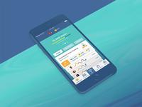WeCompete iOS App - Dashboard