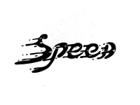 Speed dark white