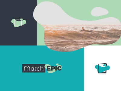 MatchEpic Brand community social ocean epic match logo icon brand