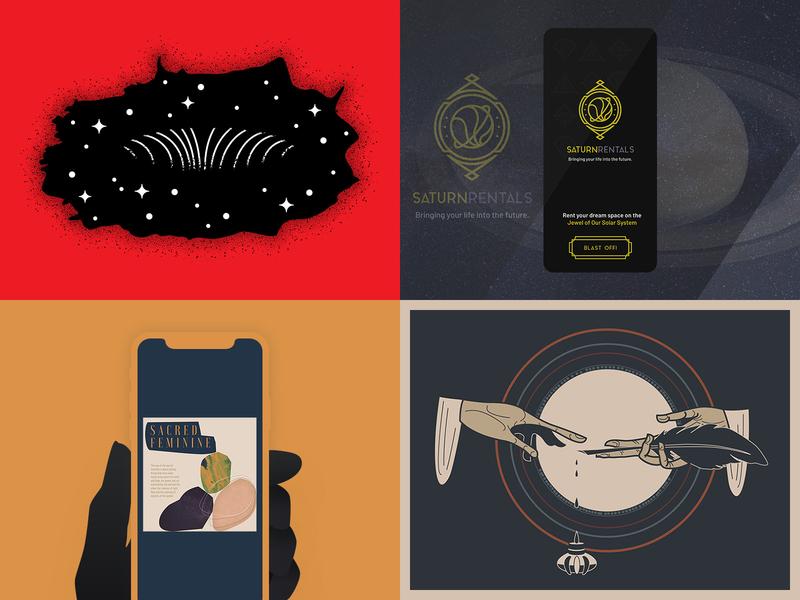 2018 - Top Four illustrator illustrate illustration topfour 2018 43 four