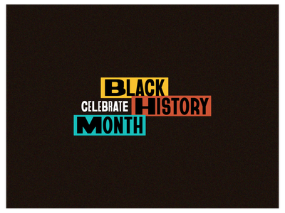 StockX BHM Branding branding type treatment typography design black history black history month