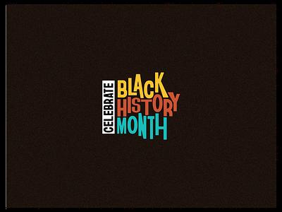 BHM @ StockX black history month black history type treatment typeface branding vector type design typography